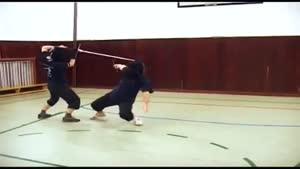تکنیک شمشیر بازی با شمشیر بلند