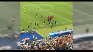 شادی هواداران  پرتغال