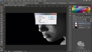 آموزش فوتوشاپ برای ایفکت گذاری