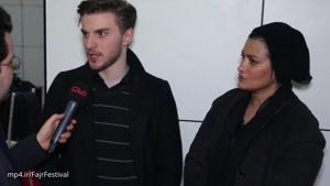 گفتگو با دارا حیایی و مادرش(همسر سابق امین حیایی) درباره فیلم شعله ور