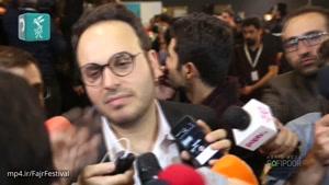 گفتگو با هادی حجازی فر و محمدحسین مهدویان کارگردان و بازیگر فیلم لاتاری بعد از پایان نشست خبری