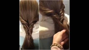 آموزش یک بافت موی نوین و جالب