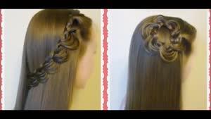 دو مدل بافت موی زیبا