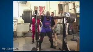 جدیدترین تمرینات بدنسازی رونی کلمن