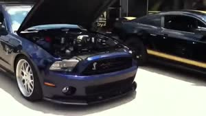 صدای استارت فورد شلبی با سوپر شارژ -۱۰۰۰ اسب بخاری