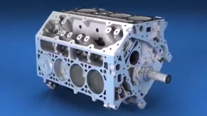 جم کردن موتور کرویت -Corvette Engine