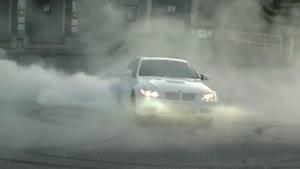 حرکت نمایشی با BMW