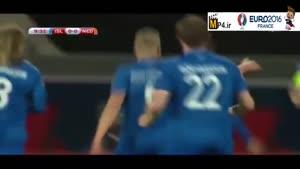ایسلند ۲-۰ هلند