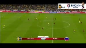 سوئد ۱-۱ روسیه