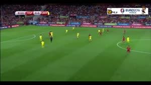 اسپانیا ۱-۰ اوکراین