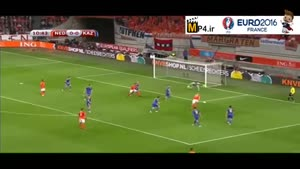 هلند ۳-۱ قزاقستان