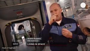 نگاهی به زندگی فضانوردان در ایستگاه فضایی بین المللی