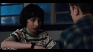 سکانس عاشقانه بین مایک و ۱۱ در سریال Stranger Things