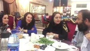 اولین حضور «نرگس محمدی» و «علی اوجی» در یک دورهمی