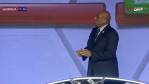 علی دایی در قرعه کشی جام ملت های آسیا ۲۰۱۹