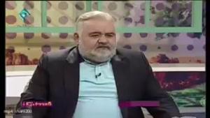 اکبر عبدی مهران مدیری رو با خاک یکسان کرد .