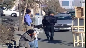 دوربین مخفی ایرانی دزد و پلیس