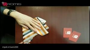 چهار روش تا کردن دستمال جیب