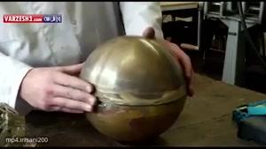 مراحل ساخت توپ طلای فرانس فوتبال 2016