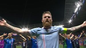 تشویق ایسلندی یه ریتم