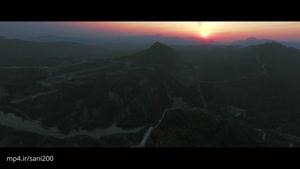 دیوار بزرگ چین در یک نمای فوق العاده-۴k