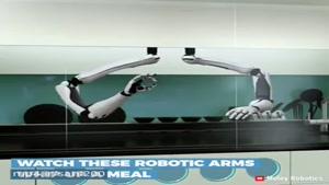 روباتهای آشپز برای کمک به خانمهای کارمند