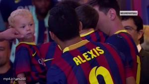 بازیکنان مشهور فوتبال به همراه بچه هاشون