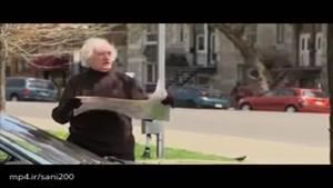 کلیپ بشدت خنده دار دوربین مخفی سارقین پیرو سالخورده