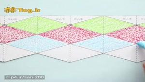 ساخت اوریگامی خلاقانه با کاغذ