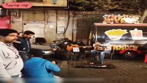 پشت صحنه ی یهویی جذاب از فیلم لاتاری