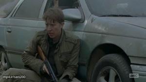 وقتی اریک تیر میخوره-قسمت دوم از فصل هشتم The Walking Dead