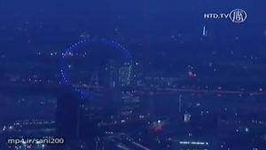 بلندترین ساختمان لندن و مشاهده ی پرده نمایشی از تاریخ