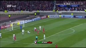 گل های بازی پرسپولیس و الجزیره در لیگ قهرمانان آسیا
