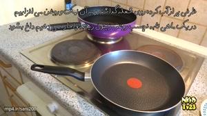 روش درست کردن پاستا پنه با مرغ، قارچ و خامه