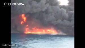 همه خدمه نفتکش ایرانی سانچی در ساعات اولیه آتشسوزی جان باختهاند…