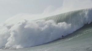 موج سواری در خطرناک ترین موج های جهان