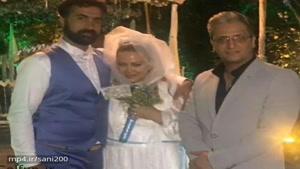 مردی که در همه عکسهای عروسی «بهاره رهنما» دیده میشود، کیست؟