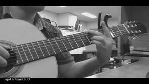 نوازندگی گیتار عاشقانه