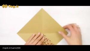 روشی ساده و خلاقانه برای ساخت جعبه کادو با هنر اوریگامی