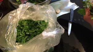 آموزش آسان درست کردن کوکو سبزی