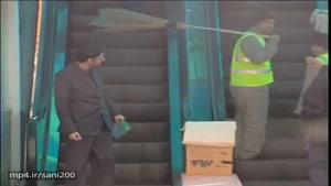دوربین مخفی ایرانی : پله برقی