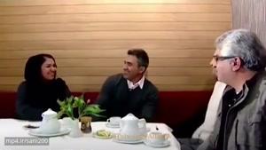 واکنش جالب همسر عابدزاده به خبر ازدواج مجدد او + تمرینات عقاب آسیا