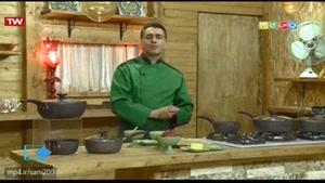 آموزش آشپزی آسان- پاستا با سس آلبالو