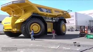 بزرگ ترین کامیون بدون سرنشین جهان