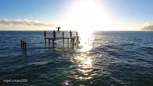 ویدیویی زیبا از جزایر هاوایی همراه با ویس امیدبخش-۴k
