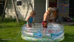 بچه های بازیگوشی که واقعا خنده دار هستند