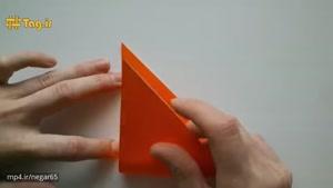 آموزش درست کردن هویج با کاغذ