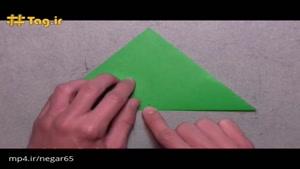 اوریگامی ، آموزش ساخت ستاره هشت پر