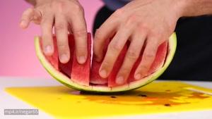 ۹روش اصلی واسه بریدن هندوانه