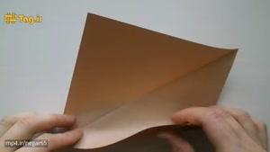 آموزش درست کردن بستنی با کاغذ و تکنیک اوریگامی
